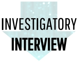 Investigatory Interview Icon